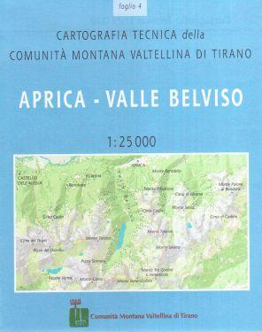 Aprica, Valle Belviso 1:25.000