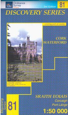 Cork e Waterford contee - Youghal f.81 1:50.000