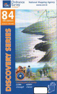 Cork e Kerry contee - Bear Peninsula f.84 1:50.000