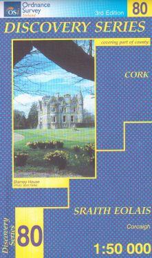 Cork contea - Mallow  f.80 1:50.000