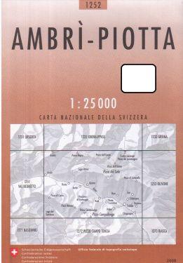 Ambrì, Piotta 1:25.000