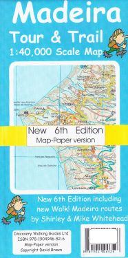 Madeira Tour e Trail 1:40.000