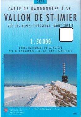 Vallon de Saint-Imier 1:50.000