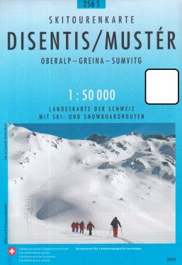 Disentis, Mustér 1:50.000