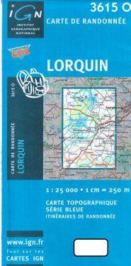Lorquin 1:25.000