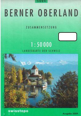 Berner Oberland 1:50.000