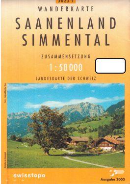 Saanenland, Simmental 1:50.000