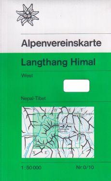 Langtang Himal West 1:50.000