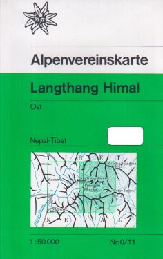 Langtang Himal Ost 1:50.000