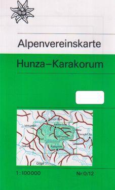 Hunza-Karakorum 1:100.000