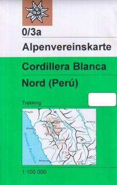 Cordillera Blanca Nord 1:100.000