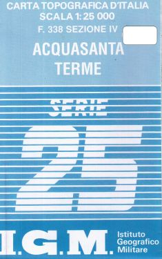 Acquasanta Terme 1:25.000