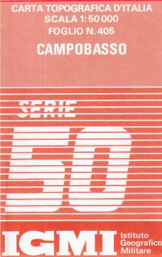 Campobasso 1:50.000