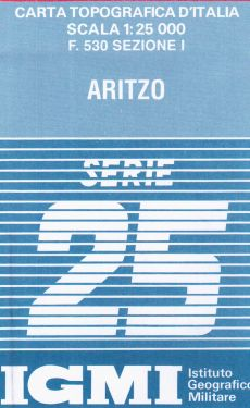 Aritzo 1:25.000
