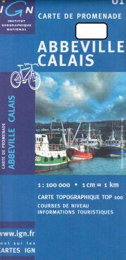 Abbeville, Calais 1:100.000
