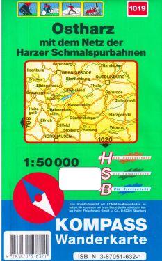 Ostharz 1:50.000