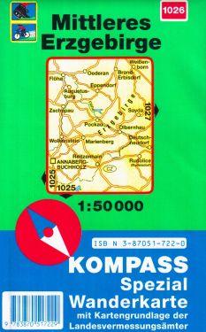 Mittleres Erzgebirge 1:50.000
