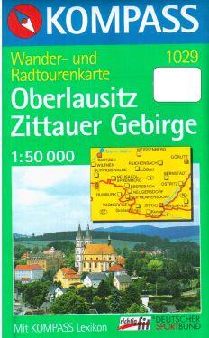 Oberlausitz, Zittauer Gebirge 1:50.000