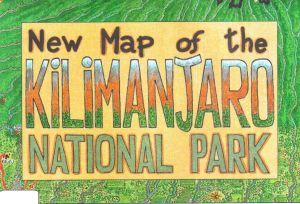 Kilimanjaro National Park 1:100.000