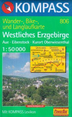 Westliches Erzgebirge 1:50.000