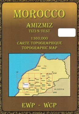 Amizmiz, Tizi-n-Test 1:160.000
