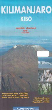 Kilimanjaro Kibo 1:80.000