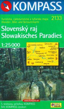 Slowakisches Paradies 1:25.000