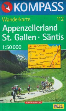 Appenzellerland, Saint Gallen, Säntis 1:50.000