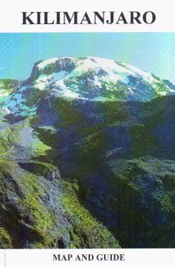 Kilimanjaro map and guide 1:75.000