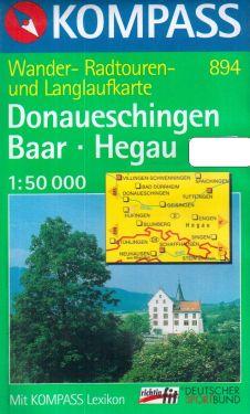 Donaueschingen, Baar, Hegau 1:50.000