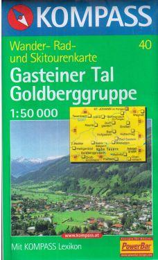 Gasteiner Tal, Goldberggruppe 1:50.000