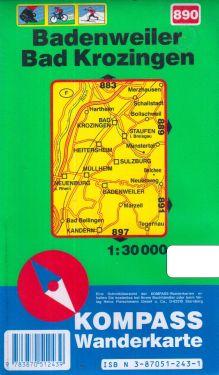 Badenweiler, Bad Krozingen 1:30.000