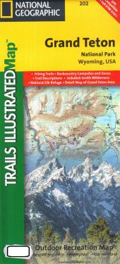 Grand Teton National Park 1:78.000