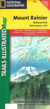 Mount Rainier National Park 1:50.000