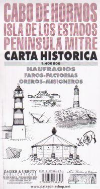 Cabo de Hornos, Isla de Los Estados, Peninsula Mitre 1:400.000