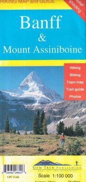 Banff & Mount Assiniboine 1:100.000