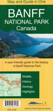 Banff National Park Canada 1:250.000