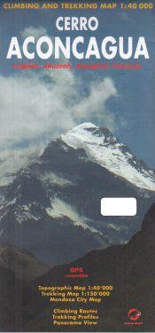 Cerro Aconcagua 1:40.000
