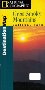 Great Smoky Mountains National Park 1:100.000