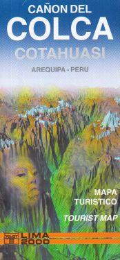 Canon del Colca, Cotahuasi, Arequipa 1:225.000