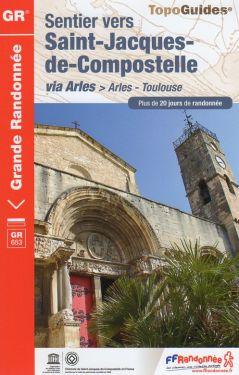 Sentier vers Saint-Jacques-de-Compostelle de Arles à Toulouse GR653