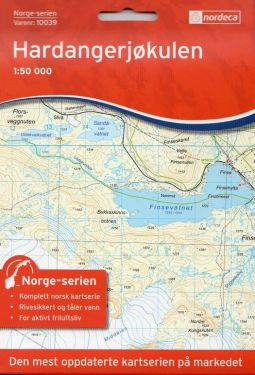 Hardangerjøkulen 1:50.000 f.10039