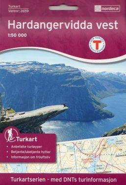 Hardangervidda Vest 1:50.000 f.2659