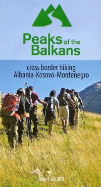 Peaks of the Balkans 1:60.000