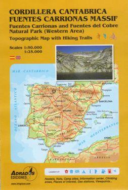 Cordillera Cantabrica, Fuentes Carrionas Massif 1:25.000 - 1:50.000