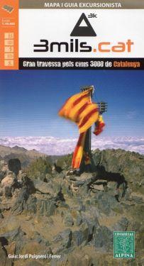 3mils.Cat – Gran Traversata dei 3000 della Catalunya 1:40.000