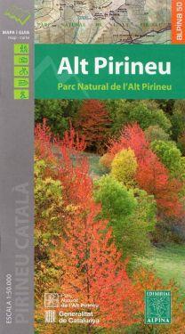Alt Pirineu Parc Natural 1:50.000