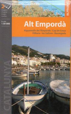 Alt Emporda', Figueres 1:50.000