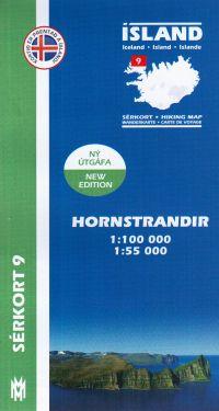 Hornstrandir f.9 1:100.000