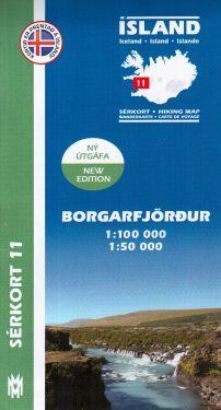 Borgarfjördur f.11 1:100.000